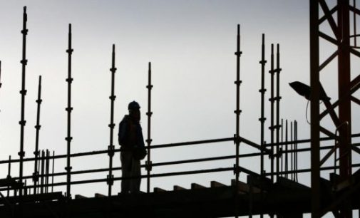 Irish construction activity up slightly last month