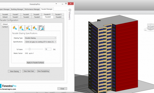 FenestraPro Premium for Revit – Efficient Facade Design for Architects