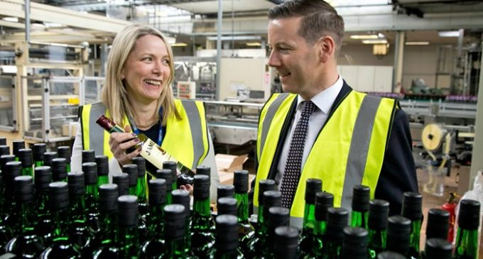 €17 Million Expansion Announced at Irish Distillers Bottling Facility in Dublin