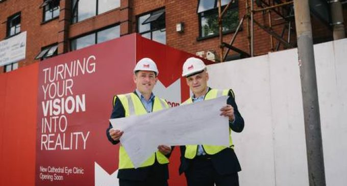 Eye surgeon invests £2m in new Belfast clinic and latest laser technology