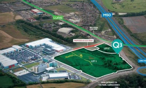 Carrickmines 'district centre' site goes to market for over €45m