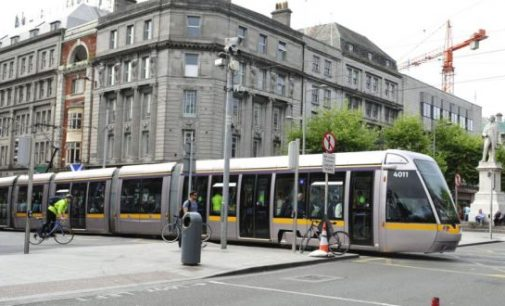 Luas Cross City tracks to arrive on O'Connell Street