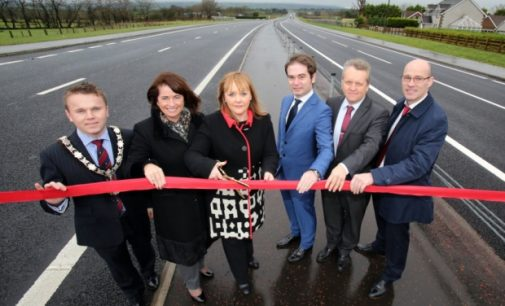 £133m A8 dualling scheme officially opens