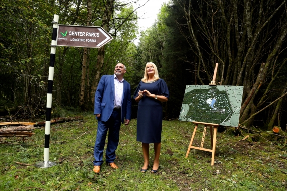 Center Parcs €233 million investment to 750 construction jobs in Longford