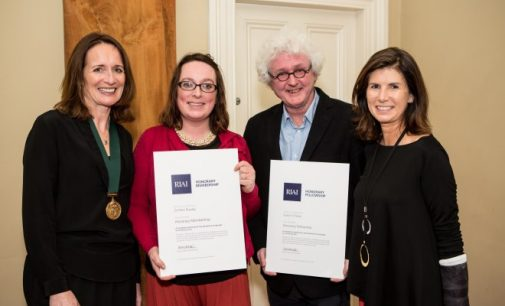 RIAI Honours Dr Ellen Rowley and Shane O'Toole