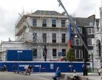 Cork city building getting ready for Crawford art students