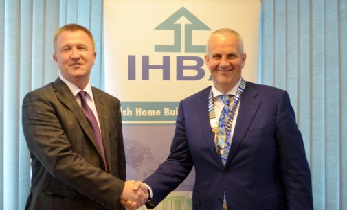 Anthony Neville appointed Chairman of the Irish Home Builders Association (IHBA)