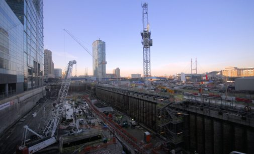 Construction contracts shifting away from London