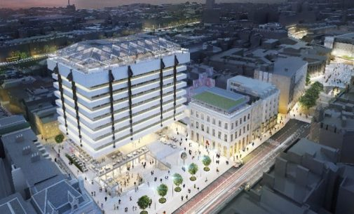Hines and Peterson submit planning for Central Plaza in Dublin's city centre