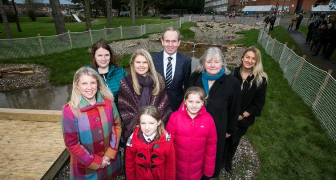 £70,000 Rainwater Garden Completed at Clandeboye Primary School