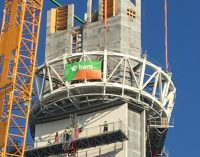 BAM's Construction of Dublin Airport's New €27 Million Air Traffic Visual Control Tower Takes Shape