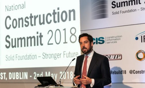 National Construction Summit 2018 – Ireland is Building Again, Says Housing Minister