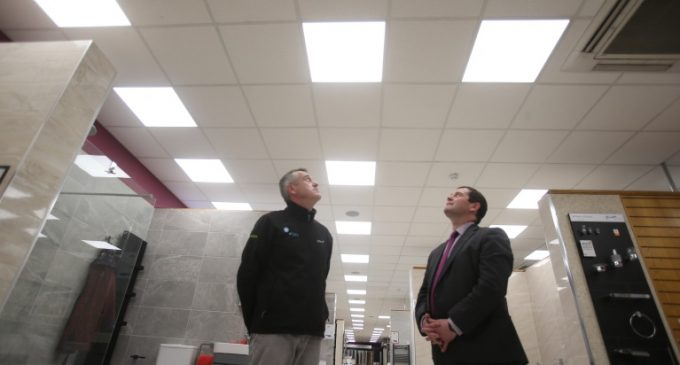 Brooks to Reduce Energy Bills by €90,000 by Switching on to Smarter Lighting