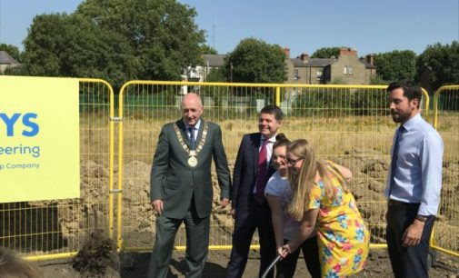 The First Phase of the Regeneration of O'Devaney Gardens Gets Underway