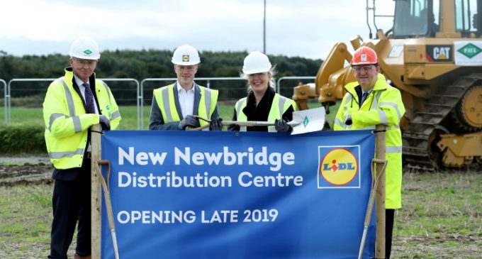 Work Commences on New €100 Million Lidl Distribution Centre in Newbridge