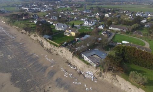 Interim Emergency Measures to Combat Coastal Erosion in Portrane