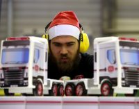 Apprentice Carpenters Spreading Christmas Cheer to Children in Need