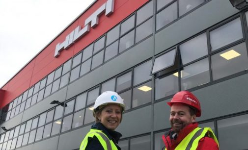 Ardmac Awarded Commercial Fit Out of Hilti HQ in Dublin