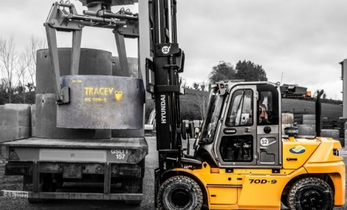 J D Forktrucks Cements Deal With Tracey Concrete