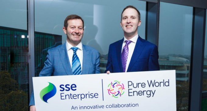 SSE Enterprise and Pure World Energy Launch Cleaner and Cheaper Power Solution