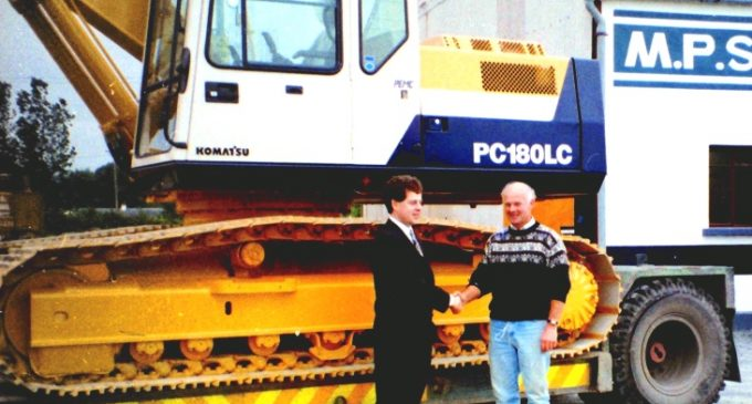 McHale Plant Sales Celebrating 25 Years of Service to the Construction Machinery Sector