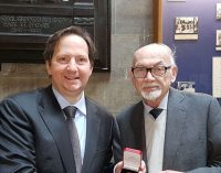Trinity College Dublin 'Bunni' Medal Awarded to Michael Mulcahy SC
