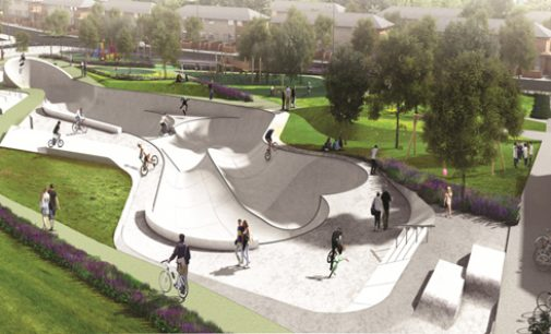 Ground Officially Broken on new BMX and Play Park For Ballyfermot in Dublin