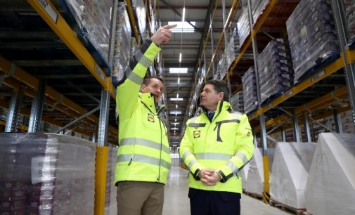 Lidl Opens New €100 Million Distribution Centre