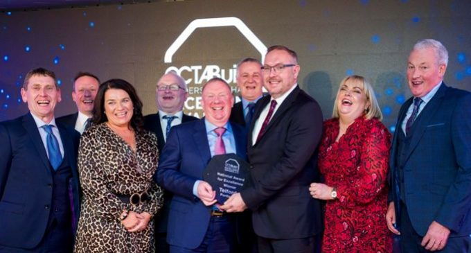 Telfords Portlaoise Wins National Title in Octabuild Builders Merchant Excellence Awards 2019