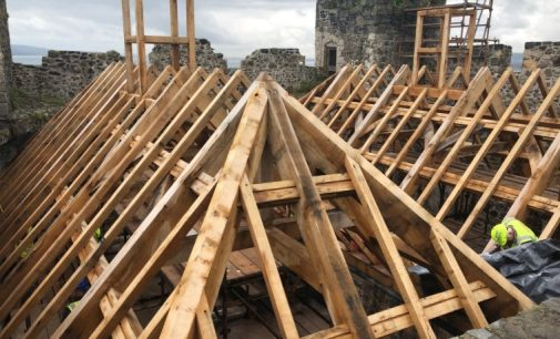 Completion of New Roof at Carrickfergus Castle a Towering Success