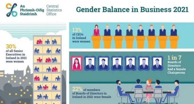 One in eight CEOs in Ireland are women – CSO survey