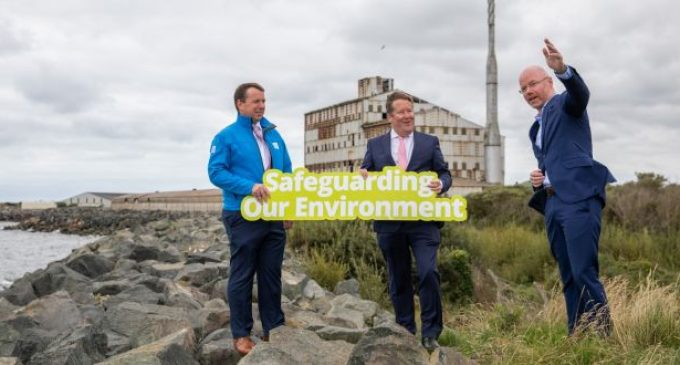 Construction begins on €139m wastewater treatment plant in Arklow